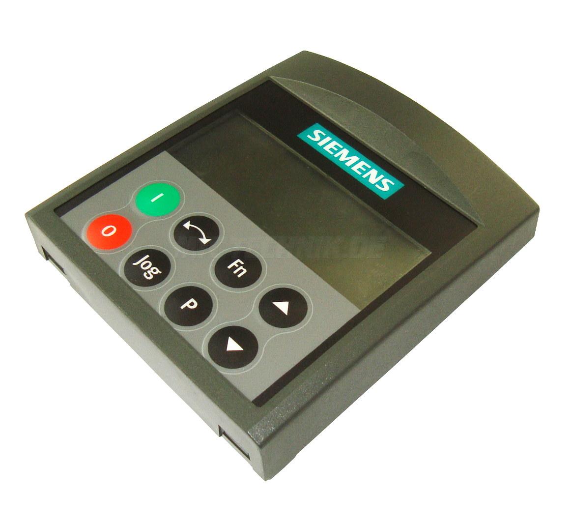 Basic Operator Panel 6se6400-0bp00-0aa0 Siemens Kaufen