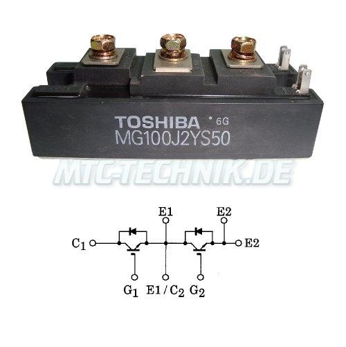 Toshiba Transistor Modul Mg100j2ys50