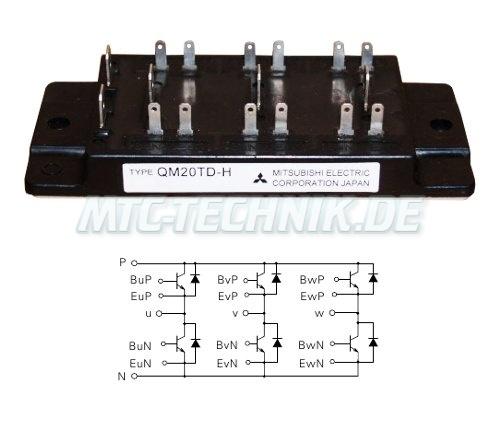 Mitsubishi Transistor Modul Qm20td-h