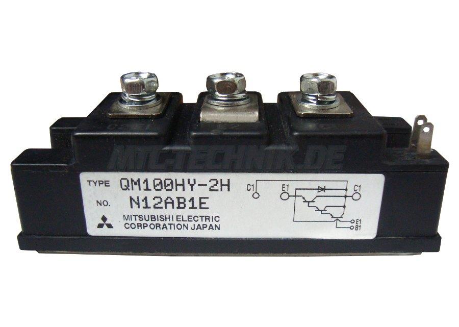 Mitsubishi Electric Transistor Module Qm100hy-2h