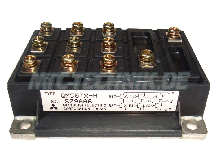 Mitsubishi Transistor Qm50tx-h 6-pack Module Bestellen