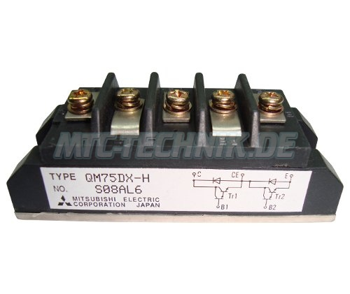 Darlington Transistor Qm75dx-h Mitsubishi Shop