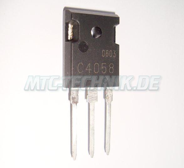 Shindengen Npn Transistor C4058