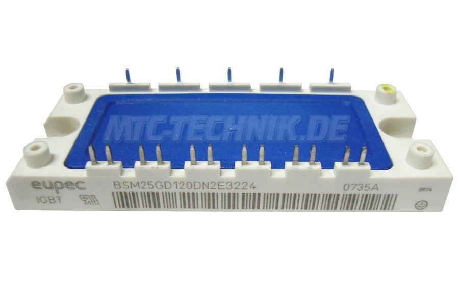 Eupec Igbt Transistor Module Bsm25gd120dn2e3224
