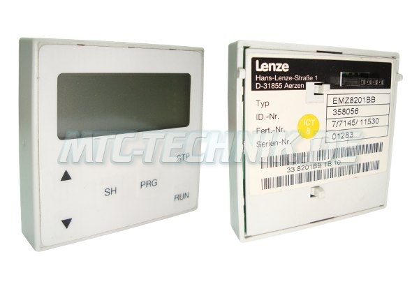 1 Lenze Vector 8200 Emz8201bb