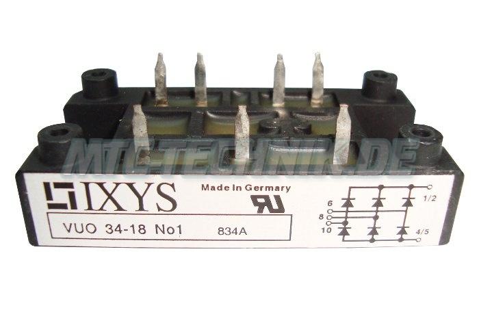 1 Ixys Gleichrichter Vuo34-18no1