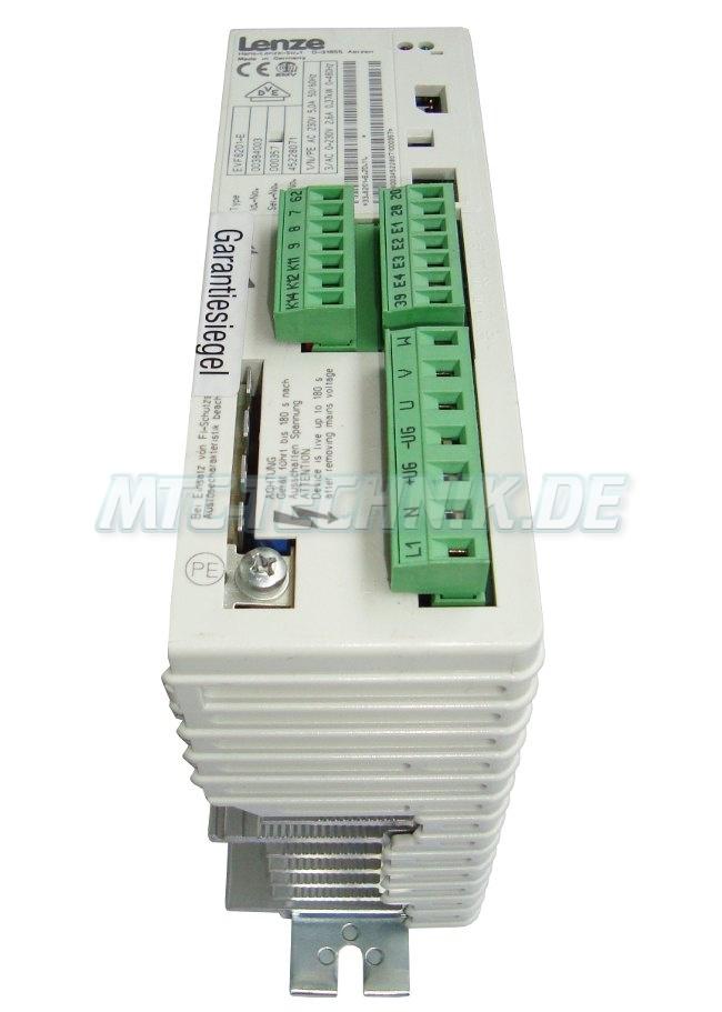 2 Austausch Lenze Evf8201-e Frequenzumrichter