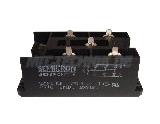 2 Semikron Shop Skd31-16 Gleichrichter