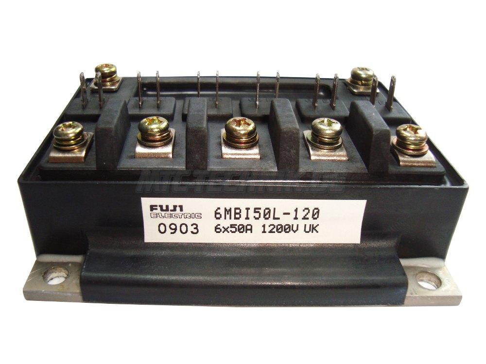 1 Fuji 6-pack Igbt Module 6mbi50l-120 Shop