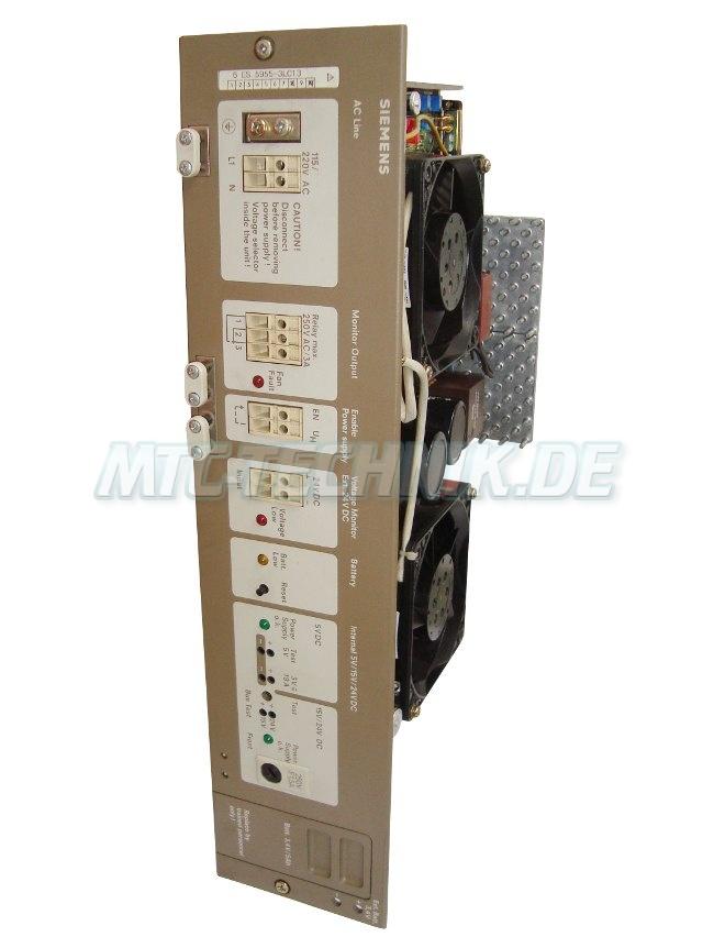 1 Siemens Power Unit 6es5955-3lc13 Simatic-s5
