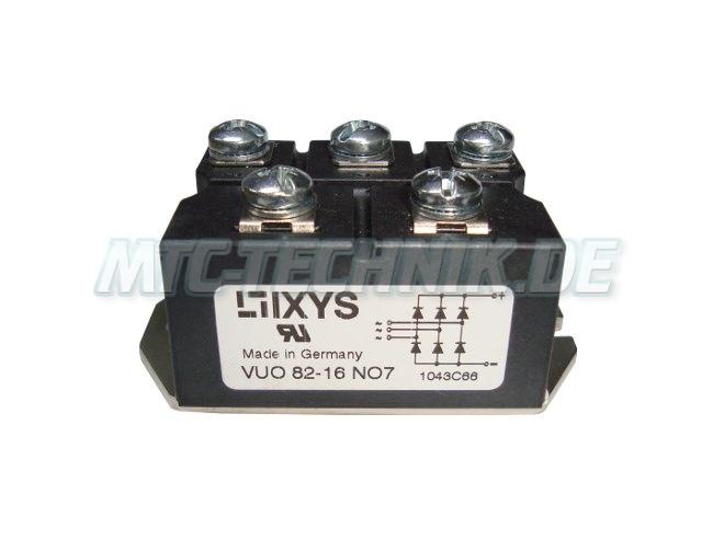Ixys Dioden Modul Vuo82-16no7 Gleichrichter Shop