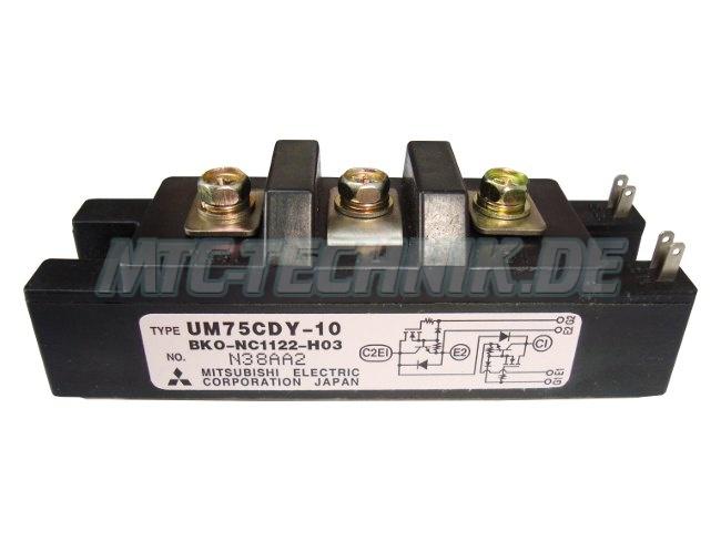 Mitsubishi Electric Transistor Module UM75CDY-10