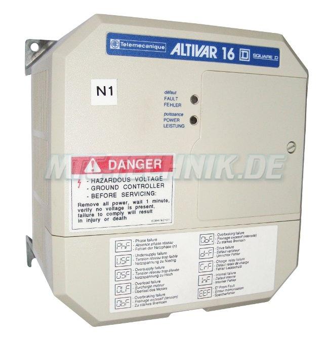 1 Telemecanique Frequenzumrichter Atv16u09m2 Shop