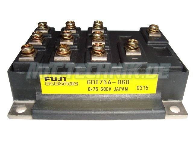 Fuji Electric 6di75a-060 Module 6-pack Shop