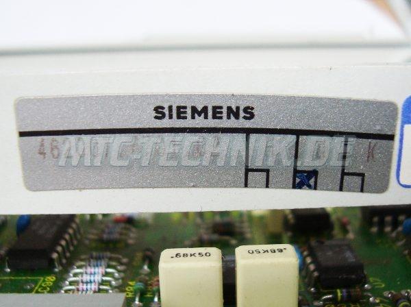 2 Siemens 462007.7701.02 Typenschild