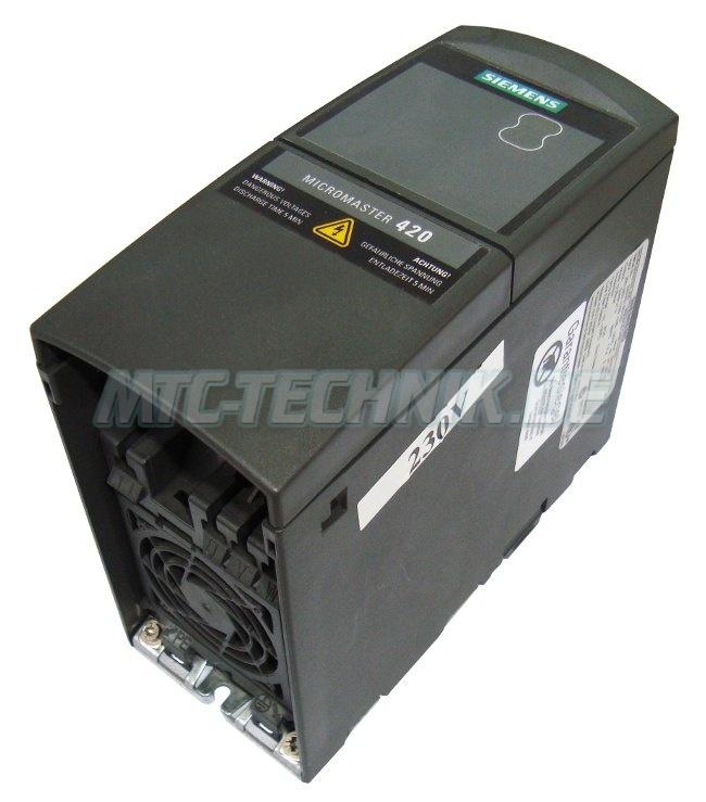 2 Seitenansicht Micro-master 6se6420-2ab12-5aa0