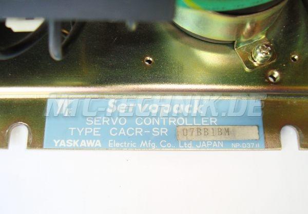 4 Yaskawa Typenschild Cacr-sr07bb1bm