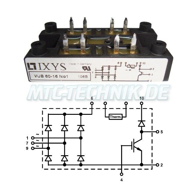 Ixys Dioden-module Vub60-16n01 Shop