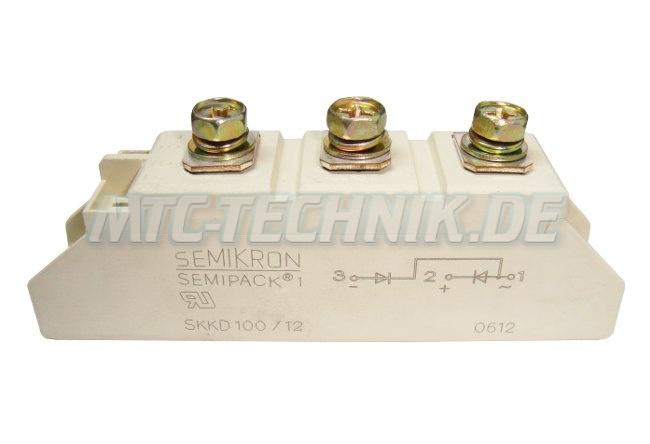 1 Semikron Dioden Module Skkd100-12 Semipack