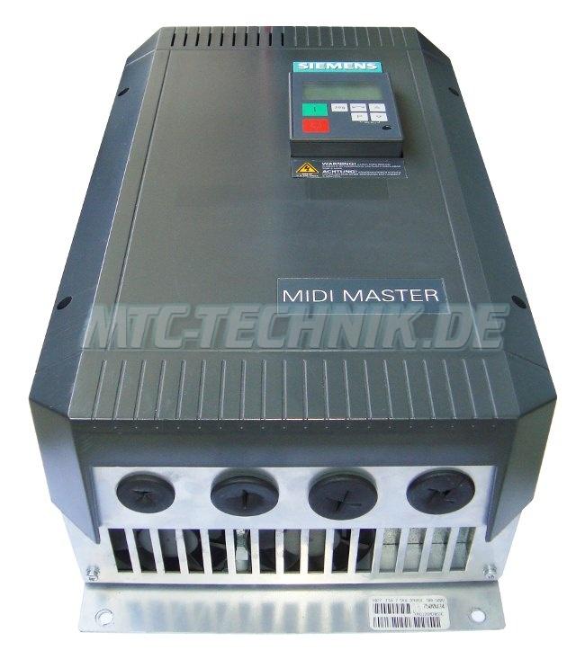 1 Siemens Shop 6se3121-7dg40 Midimaster