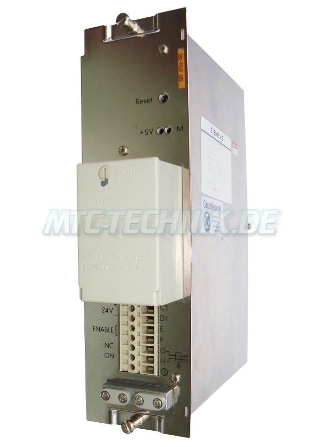 1 Siemens Netzgeraet 6ev3054-0gc System Svs2