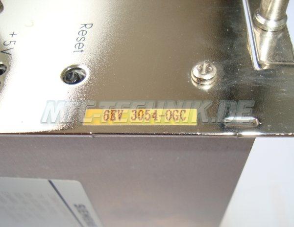3 Typenschild 6ev3054-0gc Siemens