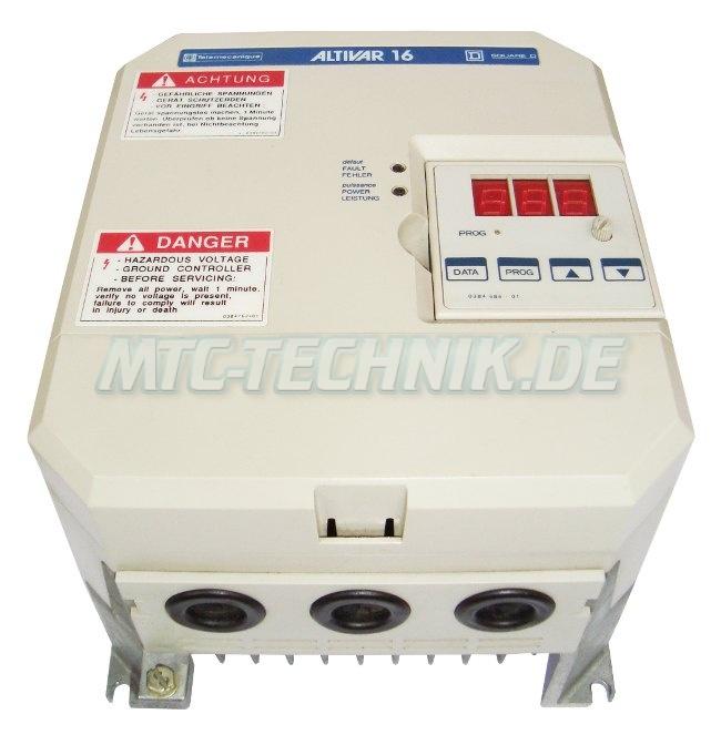2 Telemecanique Altivar-16 Atv16u18n4 Austausch