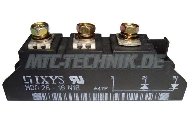 Shop Ixys Dioden Module Mdd26-16n1b
