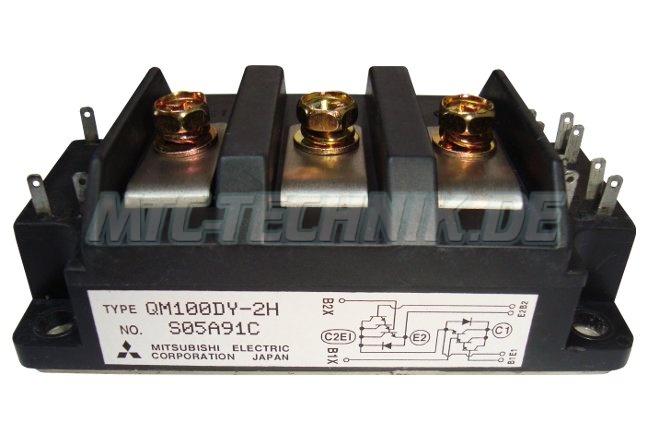 Mitsubishi Qm100dy-2h Transistor