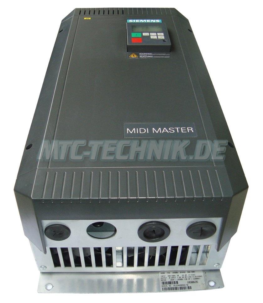 1 Siemens Midimaster 6se3123-5dh40 Shop