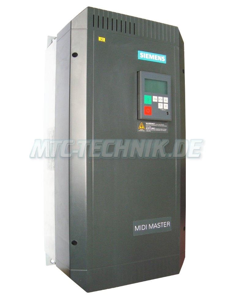 2 Austausch 6se3123-5dh40 Siemens Midi-master