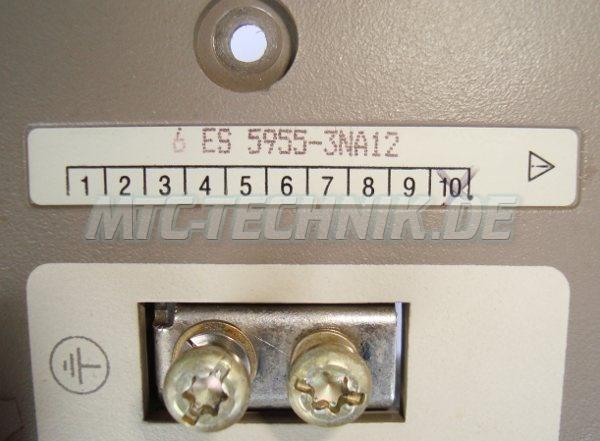 4 Typenschild 6es5955-3na12 Stromversorgung