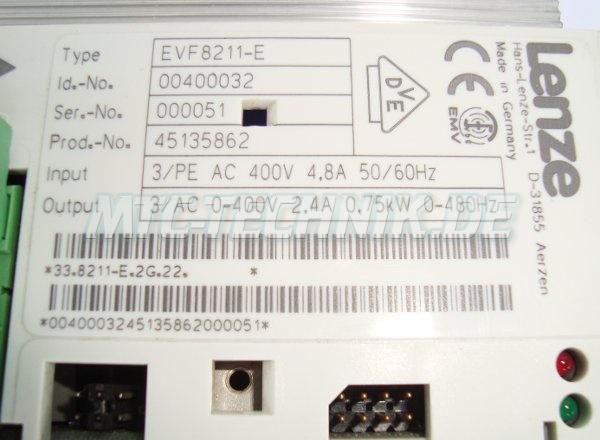 3 Typenschild Evf8211-e Lenze