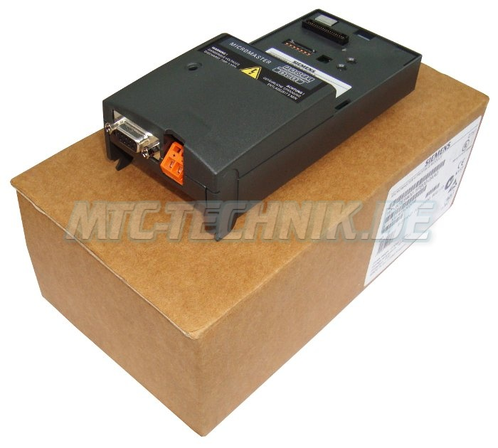 1 Siemens Micromaster 6se6400-1pb00-0aa0 Profibus Module