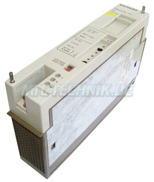 2 Simatic-s5 Power Unit 6es5951-7ld12