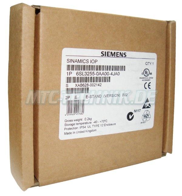 3 Siemens 6sl3255-0aa00-4ja0 Original Verpackung