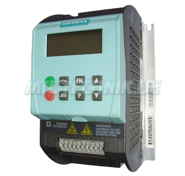 1 Siemens Sinamics 6sl3211-0ab12-5ba0 Frequenzumrichter Shop