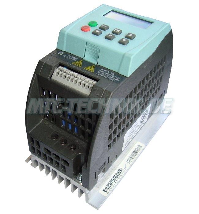 3 Austausch 6sl3211-0ab12-5ba0 Siemens Sinamics G110