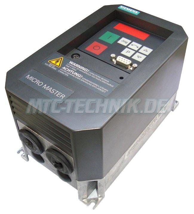 3 Micromaster Frequenzumrichter 6se3112-1ba40 Kaufen Guenstig