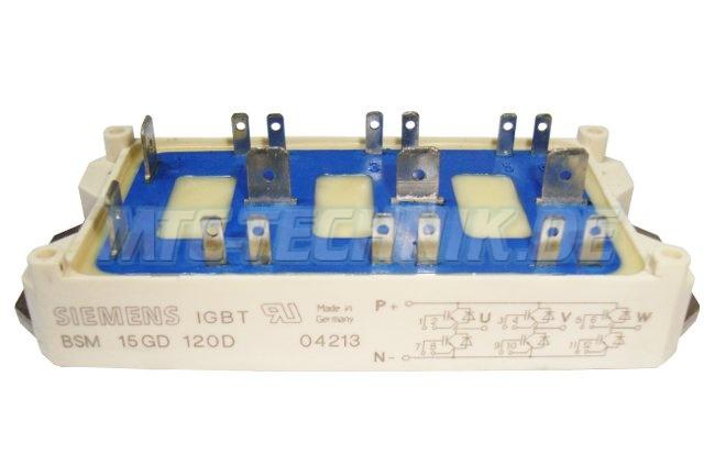 Siemens Igbt Module Bsm15gd120d 15a 1200v Shop