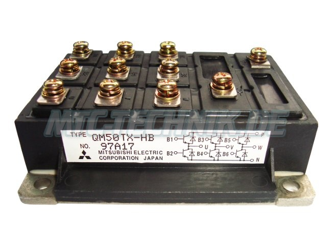 Online-shop Mitsubishi Qm50tx-hb Transistor Module
