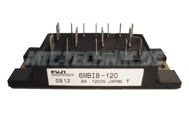 Transistor-shop 6mbi8-120 Fuji