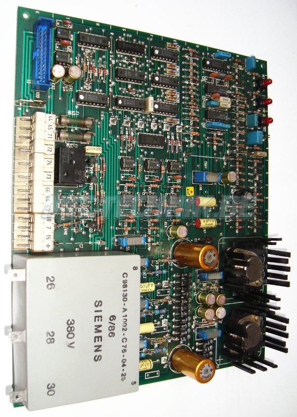 1 Siemens Power-board C98043-a1045-l3 Trafo C98130-a1002-c76-04-25