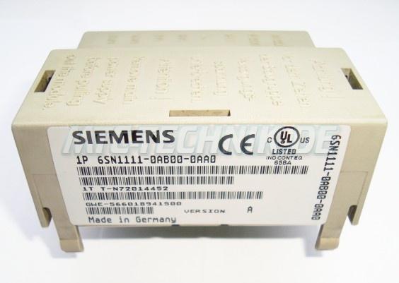 Siemens Ueberspannungsbegrenzer 6sn1111-0ab00-0aa0 Shop