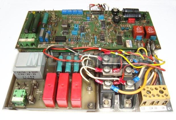 1 Siemens Feldversorgungseinheit 6ra8261-3b