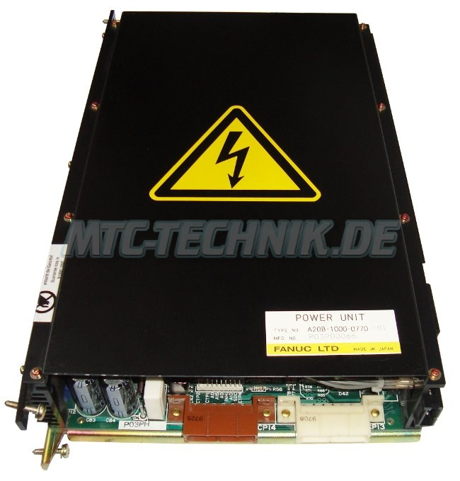 1 Fanuc Power Unit A20b-1000-0770-01 Shop