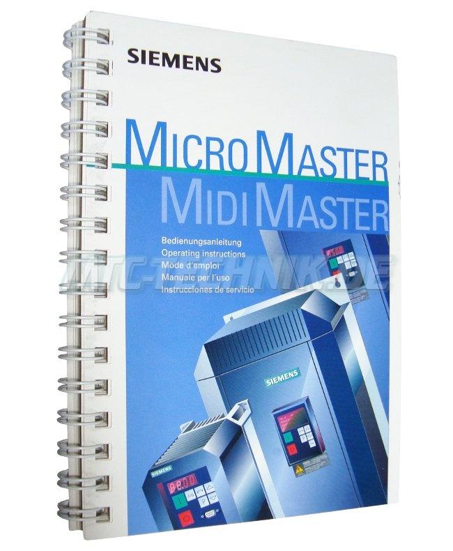 Siemens Bedienungsanleitung 6se3186-4aa00 Kaufen