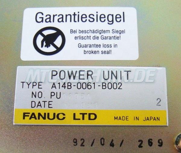 4 Typenschild Stromversorgung A14b-0061-b002