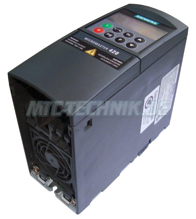 1 Siemens Shop Frequenzumrichter 6se6420-2ud21-1aa1