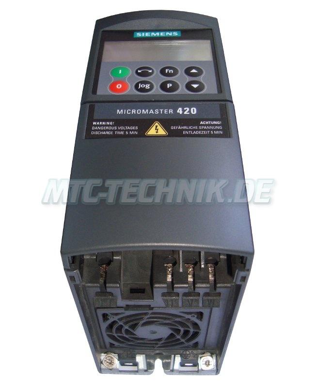 2 Micromaster 420 6se6420-2ud21-1aa1 Austausch Siemens
